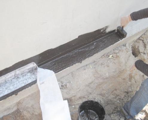 vloeibaar rubber betonafdichting