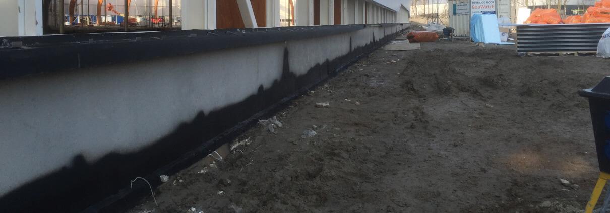 Sealing ground level detail