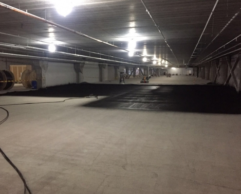 Sealing basement