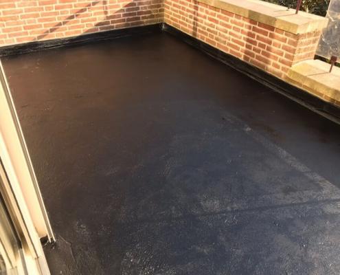 Milieuvriendelijke balkon coating
