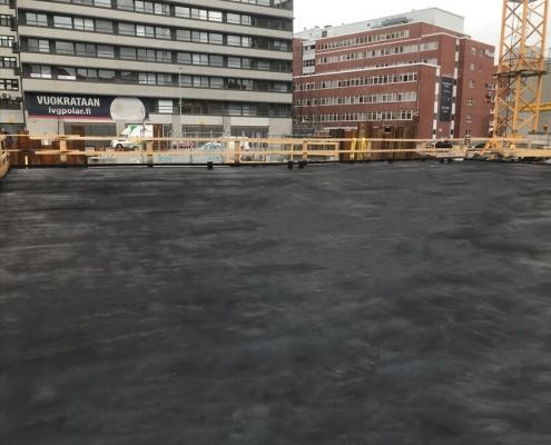 Liquid parking deck sealant