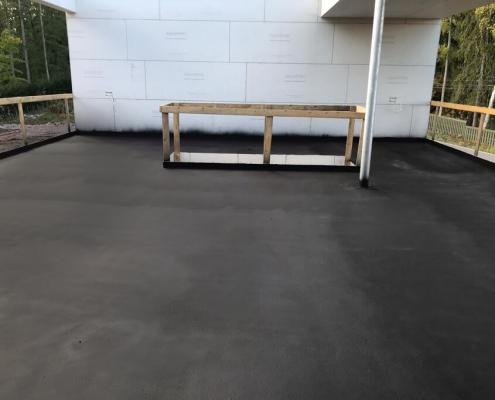 Roofterrace waterproofing