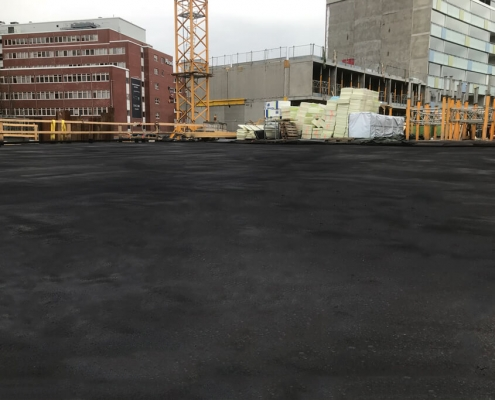 Waterproofing parking deck