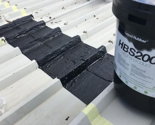 Waterproofing roofseam