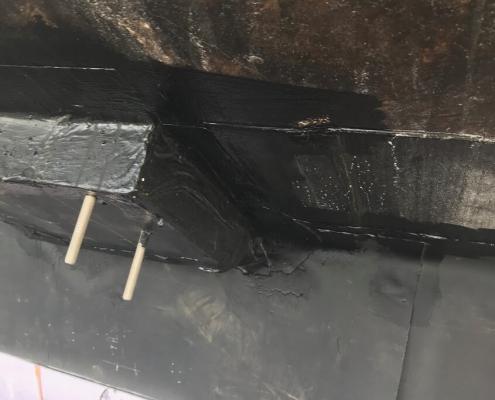 Foundation waterproofing sealant