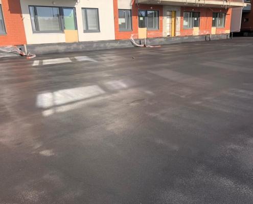 Waterproof parking deck