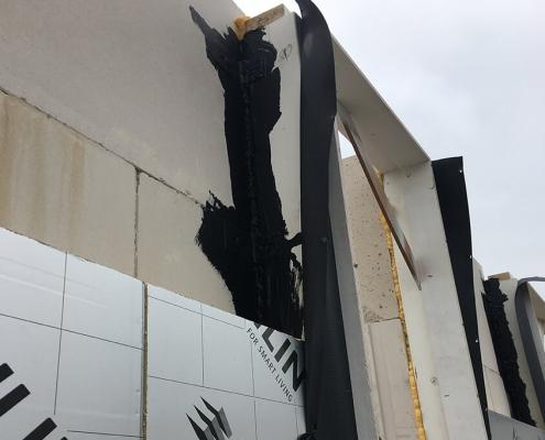 Energy-neutral construction sealing